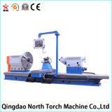 Большой горизонтальный Lathe CNC для поворачивать большую трубу, стальной крен и цилиндры (CG61100)