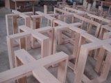 Vanità 2017 della stanza da bagno di legno solido di Tradtional con la parte superiore di marmo fissa Asv1011 del singolo dispersore dell'imbarcazione