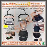 5 sortie campante solaire du voyant d'alarme de la lanterne 4 DEL de SMD DEL USB