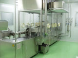 Frasco de injeção automática de enchimento e máquina Stoppering