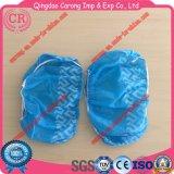Antideslizante TPE PE Nonwoven Fabric desechables cubrezapatos