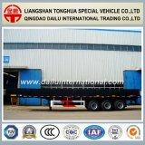 3 Aanhangwagen van de Vrachtwagen van de Zijwand van assen de Verticale Golf Standaard