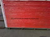 赤いColore PVC泡のボード
