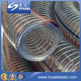 Tuyau renforcé en fil d'acier en PVC souple