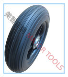 rotella solida della carriola del pneumatico della gomma piuma dell'unità di elaborazione 200X50