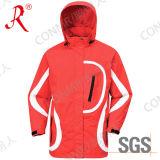 Revestimento de esqui impermeável e respirável para o inverno (QF-604)