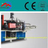 Después de hacer girar, el acabamiento automático de la cadena de producción del tubo del papel del cono, la máquina se puede ajustar libremente