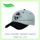 Мода рекламных Саржа из хлопка оливкового Applique спорта винты с головкой
