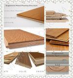 Usine près du plancher en bois conçu par planche large la plus neuve de chêne de Changhaï