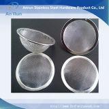 Tecidos de malha de arame simples para o filtro do tipo da PAC
