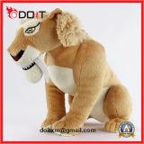 Jouet en peluche de jouet en peluche au lion d'animal farci