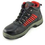 Стальной стандарт Ce En345 кожаный ботинок замши Midsole крышки пальца ноги