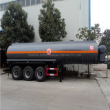 3 차축 20000L Corrosive Chemical Liquid Tank Semi Trailer