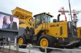 Cargador LG938L de la rueda de las partes frontales de Sdlg 3t de la maquinaria móvil de tierra de China para la venta