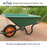 Carrinho de mão de roda concreto de África do Sul com bandeja plástica