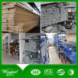 Modèle en bois en aluminium de guichet de type de bonne qualité de voûte avec le matériel de Roto