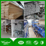 Guichet en bois en aluminium de type de bonne qualité de voûte avec le matériel de Roto