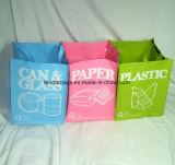 Il sacchetto di rifiuti tessuto pp riciclato ha impostato per rifiuti