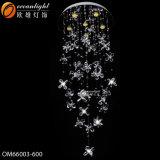 Mroccan Moderno colgante Colgante de Cristal de luz LED de iluminación (OM9341)