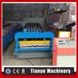 Roulis de panneau de tuile de toit de tôle d'acier en métal de trapèze de certificats de la CE formant la machine