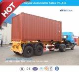 20 voeten 3 de Oplegger van de Stortplaats van de Container van de As of de Semi Aanhangwagen van de Vrachtwagen van de Kipper