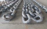 Stift-Eisen-anhebende Anker-Stahlkette des Grad-U1/U2/U3 mit Bescheinigung