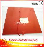 500*500mm Verwarmd Bed voor 3D RubberVerwarmer van het Silicone van de Printer Flexibele