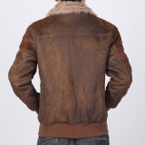 Rivestimento di cuoio dell'abito caldo per i vestiti dell'uomo