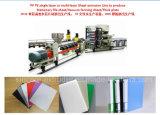 Línea micro maquinaria de la protuberancia de la hoja de la carpeta del papel de la máquina de extrudado de la hoja de la espuma de los PP