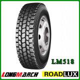Покрышка 11r22.5 11r24.5 295/75r22.5 тележки Roadlux Longmarch, покрышка тележки для рынка Канада