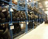 Kundenspezifische abnehmbare stapelnde Metallzahnstangen für Gummireifen-Speicher