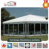 Hexadecagonのテントのホール35mのゆとりのスパン