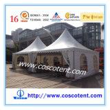 Buntes Pagode-Zelt für Car Show