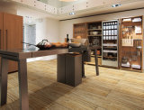セラミックタイルの木製の板の陶磁器の床タイルのように木製の見え