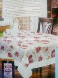 Pano de mesa PEVA impresso com PP não tecido de apoio