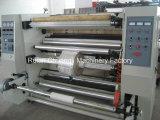 De corte longitudinal vertical y rebobinado de la máquina