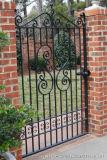 Cancello elegante su ordinazione del ferro saldato per Gardern