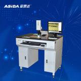Ligne appareil de contrôle de largeur pour mesurer la ligne supérieure et inférieure largeur après procédé gravure pour Pcbs