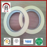 Fabrication White Yellow Crepe Paper Masking Adhesive Tape
