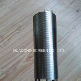 Filter de Van uitstekende kwaliteit van de Pijp van de Buis van de Draad van de Wig van het Roestvrij staal van de rondheid