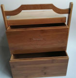 أثر قديم [إيوروبن] غلّة كرم أسلوب مختلفة خزانة خشبيّة لأنّ يعبّئ