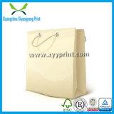 Saco de papel do presente luxuoso feito sob encomenda com a venda por atacado da cópia do logotipo