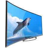 """49 """" e 55 """" Uhd hanno curvato 4k LED TV con il USB, HDMI, WiFi"""