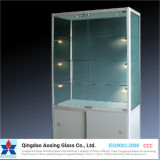 Color/vidrio laminado Seda-Impreso/blanco como la leche para el edificio/el vidrio decorativo