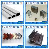 Profils d'extrusion en aluminium anodisé en argent