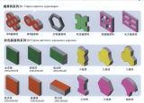 Blocchetto concreto del mattone della cavità del cemento di quarto 9-15 che fa macchina