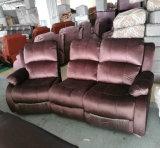 Tipo manual sofá de la tela del Recliner para los muebles y los muebles del cine (GA03) de la sala de estar