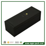 Elegent Perfume Clamsell Negro Caja de regalo de madera