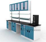 専門の生物学の教室の実験室表の家具は学生のためにセットした