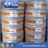 Заплетенный PVC усиленный гибкий шланг воды сада с умеренной ценой